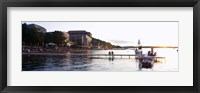 Framed Lake Mendota, University of Wisconsin, Memorial Union, Madison, Dane County, Wisconsin