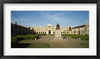 Framed Statue in the courtyard of an educational building, Rice University, Houston, Texas, USA