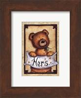 Framed Bear Bottoms - Hers