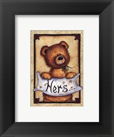 Framed Bear Bottoms - Hers