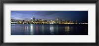 Framed City at the waterfront, Chicago, Cook County, Illinois, USA