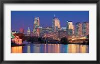 Framed Philadelphia, Pennsylvania