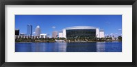 Framed Buildings at the waterfront, St. Pete Times Forum, Tampa, Florida, USA