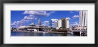 Framed Buildings at the coast, Tampa, Hillsborough County, Florida, USA