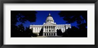 Framed California State Capitol Building