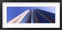 Framed Low angle view of a skyscraper, Sacramento, California