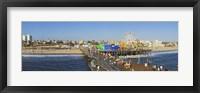 Framed Amusement park, Santa Monica Pier, Santa Monica, Los Angeles County, California, USA