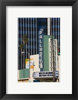 Framed Theater in a city, Hollywood Palladium, Hollywood, Los Angeles, California, USA