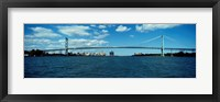 Framed Ambassador Bridge, Detroit