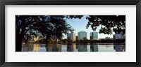 Framed Lake Eola, Orlando, Florida