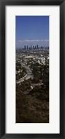 Framed Hollywood, Los Angeles, California (vertical)