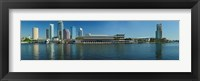 Framed Buildings at the waterfront, Tampa, Hillsborough County, Florida, USA