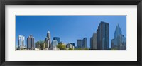 Framed Skyscrapers in Charlotte, North Carolina