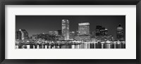 Framed City at the waterfront, Baltimore, Maryland, USA