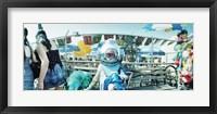 Framed Coney Island Mermaid Parade, Coney Island, Brooklyn, New York City, New York State, USA