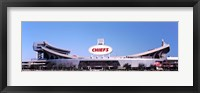 Framed Arrowhead Stadium, Kansas City, Missouri