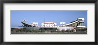 Framed Football stadium, Arrowhead Stadium, Kansas City, Missouri