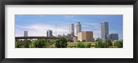 Framed Downtown Tulsa from Centennial Park, Oklahoma
