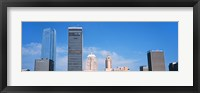 Framed Downtown skyline, Devon Tower, Oklahoma City, Oklahoma, USA
