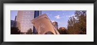 Framed Myriad Botanical Gardens bandshell, Oklahoma City, Oklahoma, USA