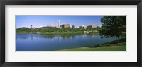 Framed Buildings at the waterfront, Omaha, Nebraska (horizontal)