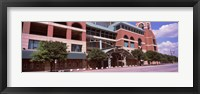 Framed Facade of a baseball stadium, Minute Maid Park, Houston, Texas, USA