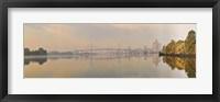 Framed Bridge across a river, Benjamin Franklin Bridge, Delaware River, Philadelphia, Pennsylvania, USA