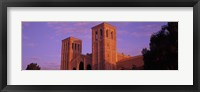 Framed Low angle view of Royce Hall at university campus, University of California, Los Angeles, California, USA