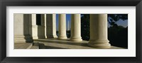 Framed USA, District of Columbia, Jefferson Memorial