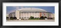 Framed Baseball stadium, Houston Astrodome, Houston, Texas, USA