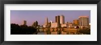 Framed Scioto River Columbus OH
