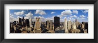 Framed View of Chicago Skyline from Lake Michigan