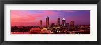 Framed USA, Florida, Tampa , night