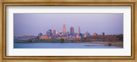 Framed Skyline from the Water, Cleveland, Ohio