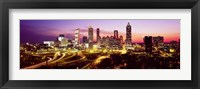 Framed Night, Atlanta, Georgia, USA