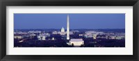 Framed High angle view of Washington DC