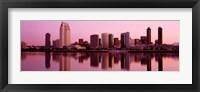 Framed Skyline San Diego CA