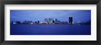 Framed Buildings on the waterfront, Norfolk, Virginia, USA