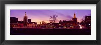 Framed Buildings in a city, Country Club Plaza, Kansas City, Jackson County, Missouri, USA