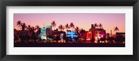 Framed Night, Ocean Drive, Miami Beach, Florida, USA