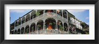 Framed French Quarter New Orleans LA USA