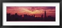 Framed Hudson River New York, NYC, New York City, New York State, USA