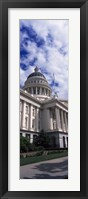 Framed State Capital Sacramento CA USA