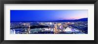 Framed Las Vegas Strip, Nevada, USA