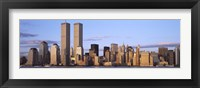 Framed Skyline with World Trade Center