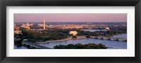 Framed Aerial, Washington DC, District Of Columbia, USA