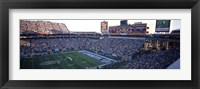 Framed High angle view of a football stadium, Sun Devil Stadium, Arizona State University, Tempe, Maricopa County, Arizona, USA