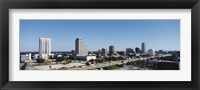 Framed Orlando, Florida Skyline