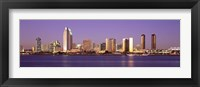Framed Skyscrapers in a city, San Diego, San Diego County, California, USA