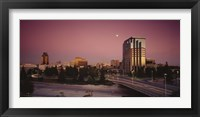 Framed Buildings in a city, Sacramento, California, USA